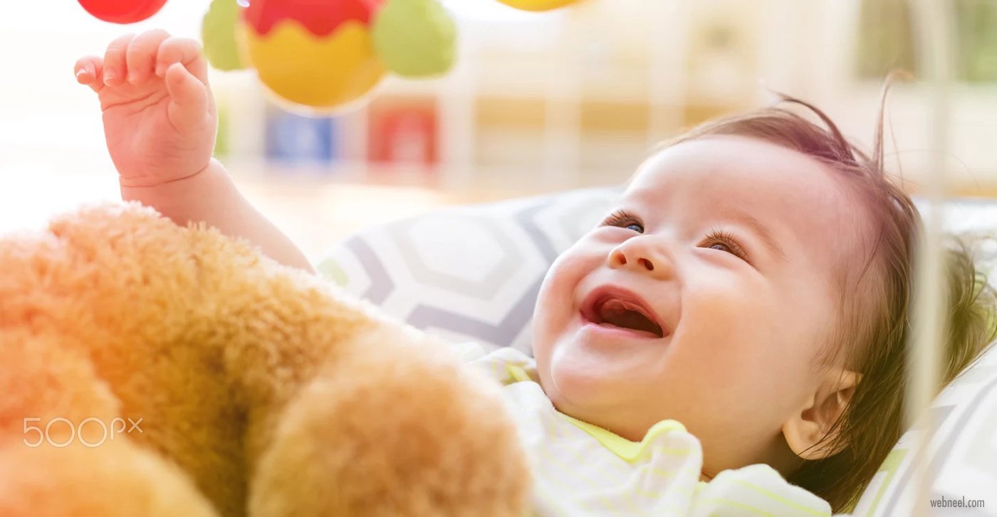 baby photography laughing by michiko tierney
