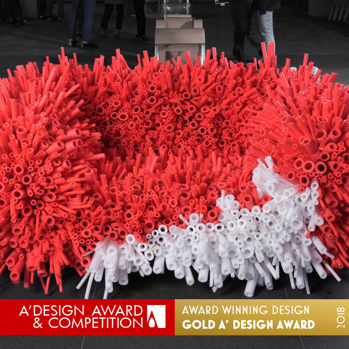 anemone sofa award winning design by yi xuan lee