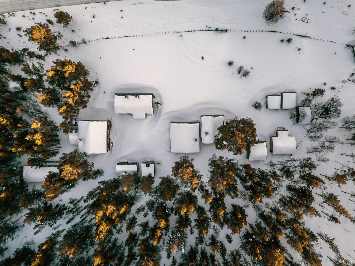 winter aerial photography by andreas