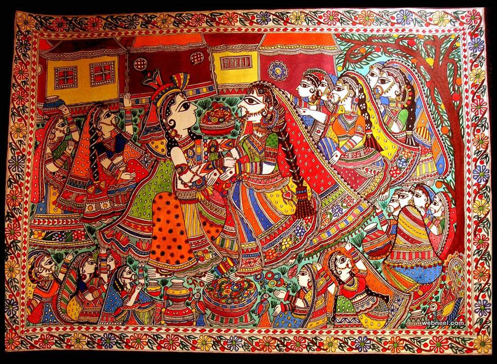 dance troupe odisha pattachitra painting