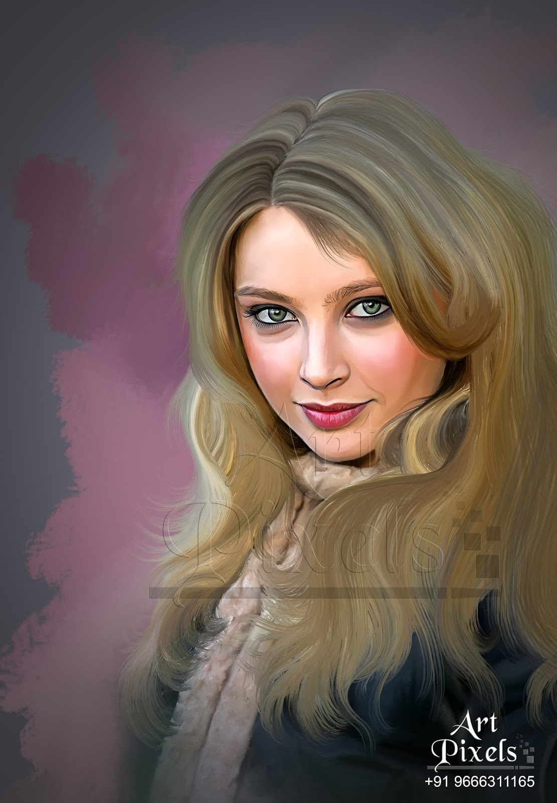 elisabeth harnois digital painting