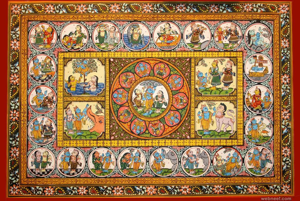 odisha patta painting