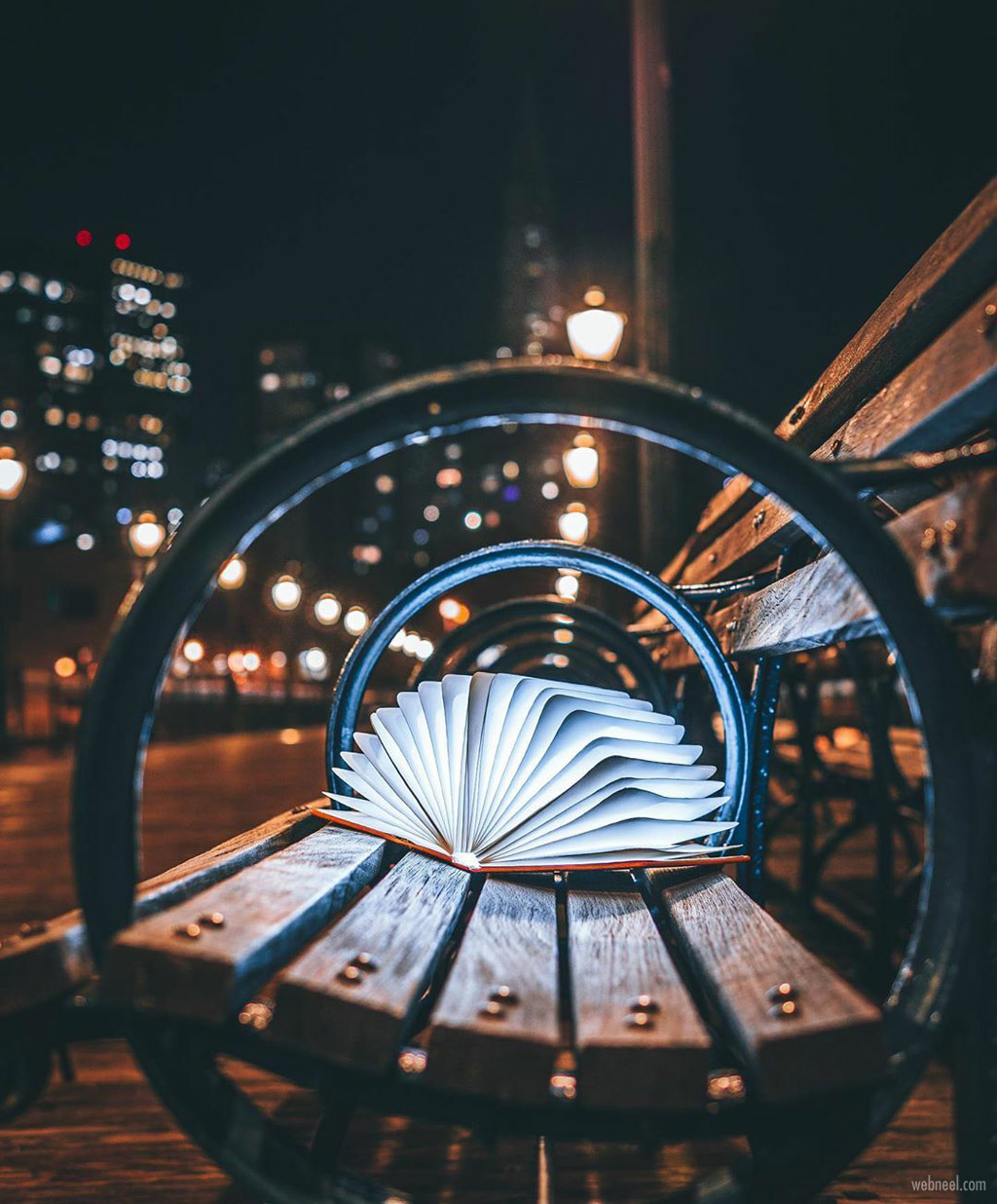 night photography book by kevin