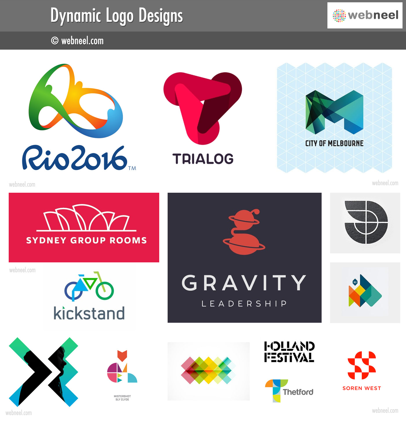 dynamic logo different types of logo design