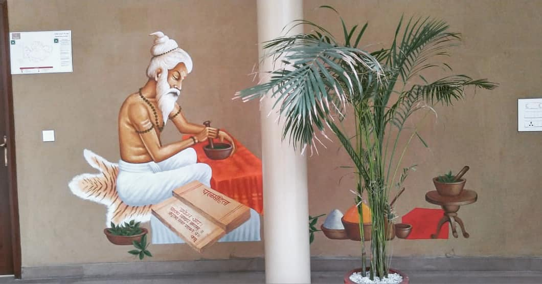 indian painting wall art