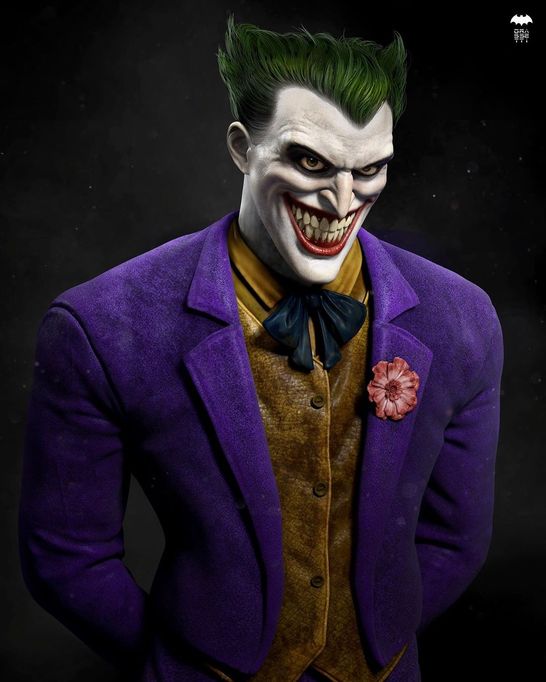 3d model character design joker