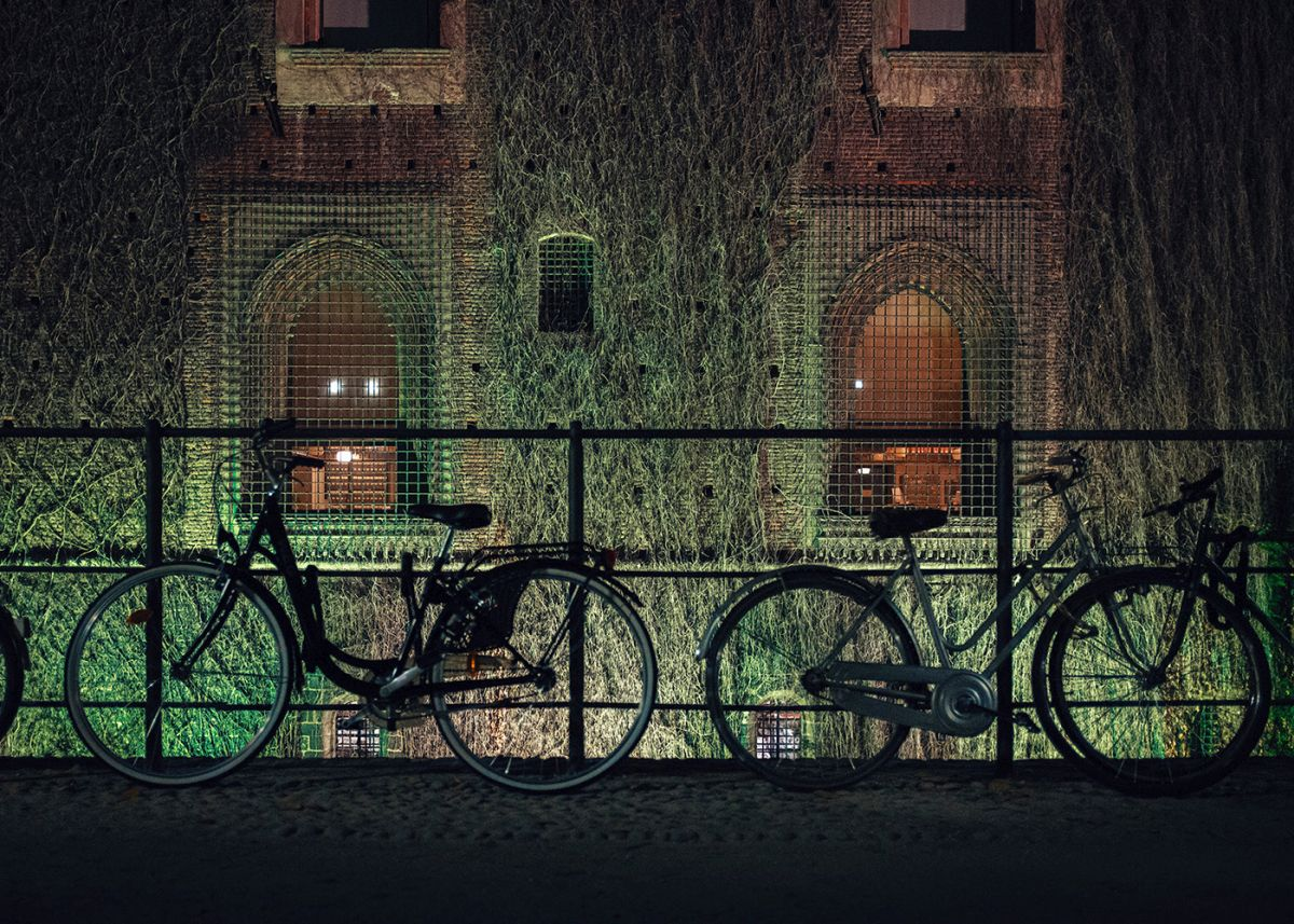 night photography city cycles
