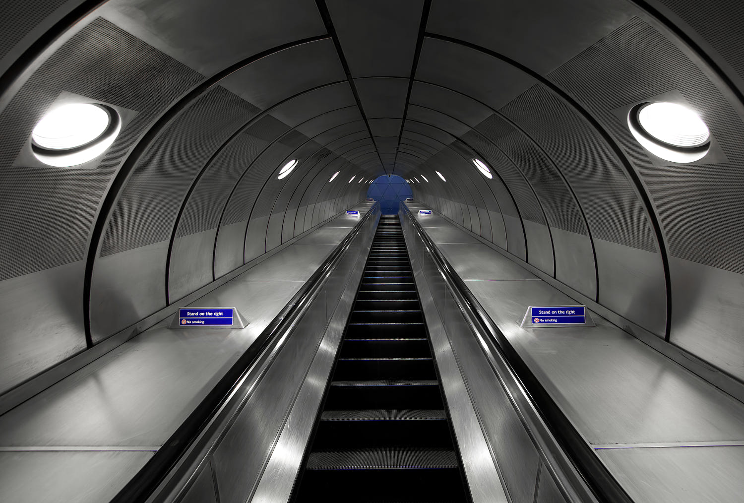 symmetry photography abstract london underground by roland shainidze