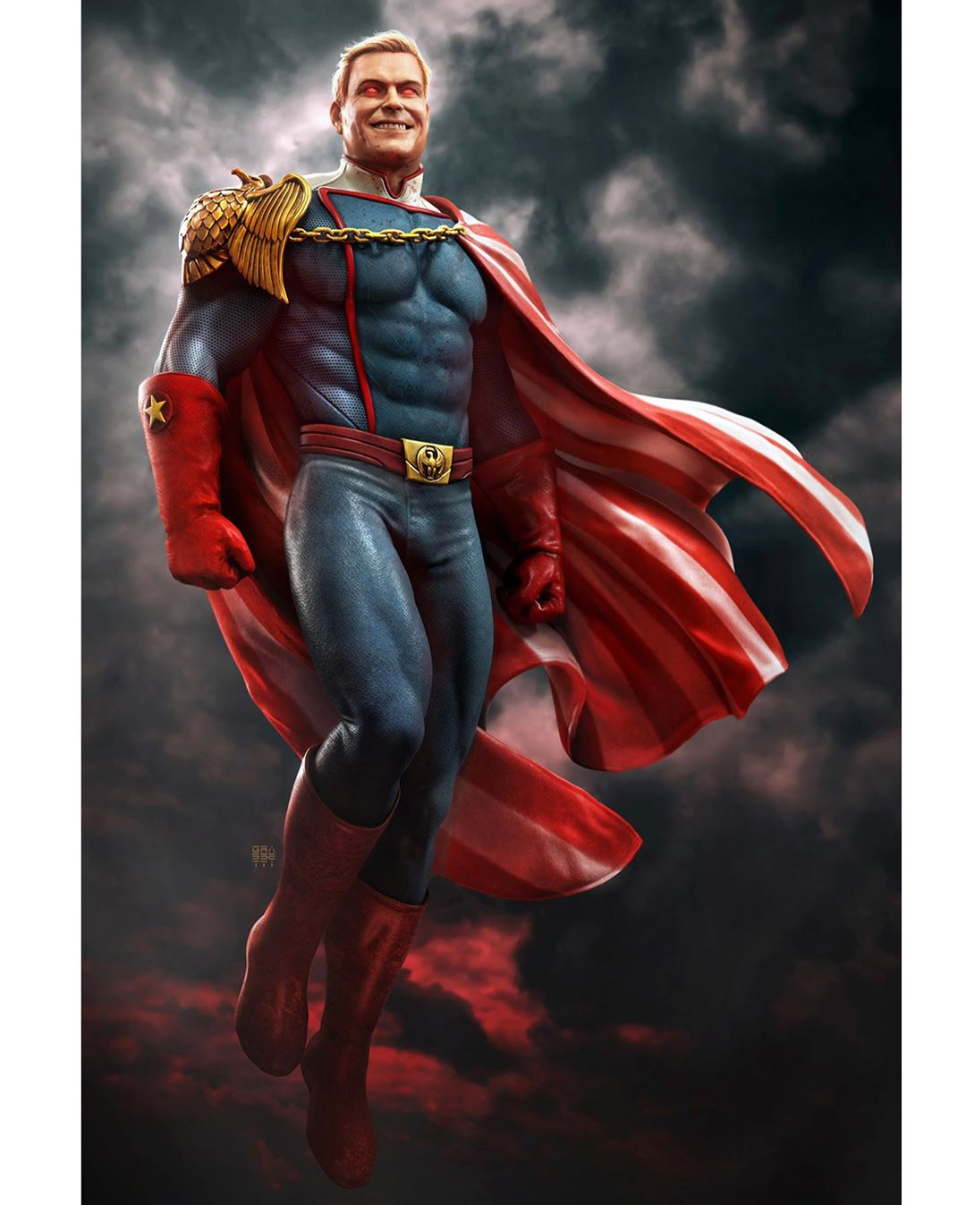 3d model character design superman