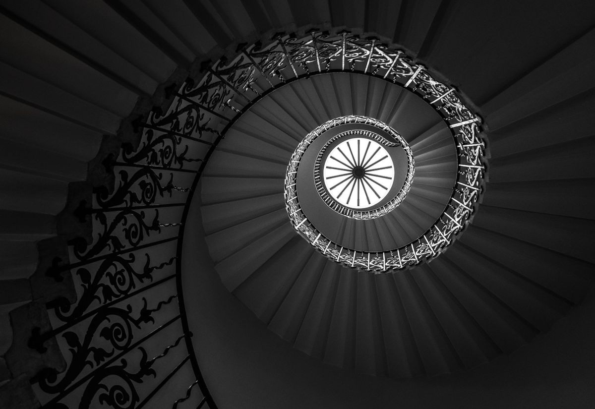 abstract photography spiral