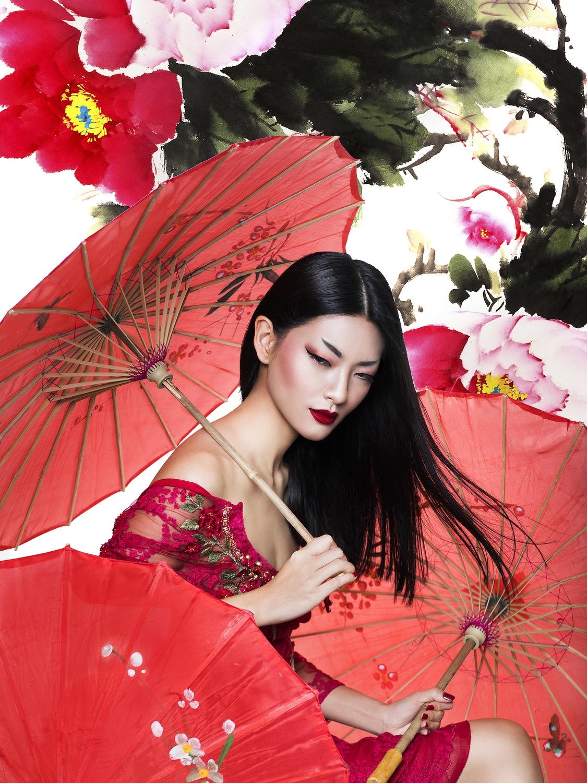 fashion photography celebrating colors by nicoline patricia malina