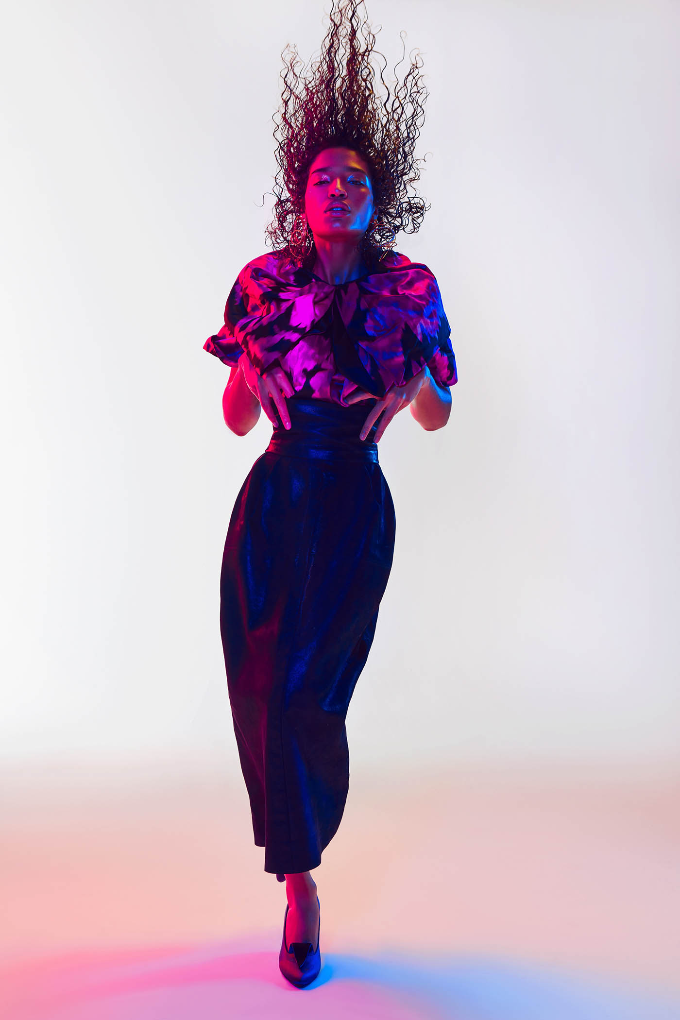 fashion photography pose by zahar bakutin