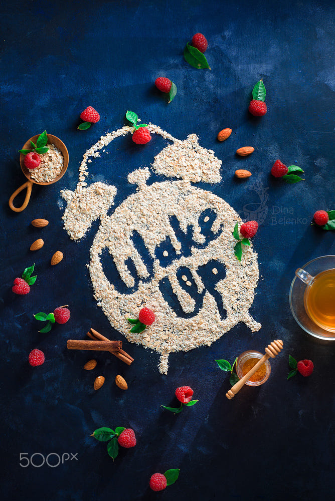 food art advertising idea photo manipulations wakeup