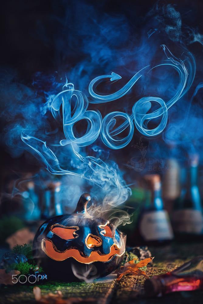 advertising idea photo manipulations halloween by dina belenko