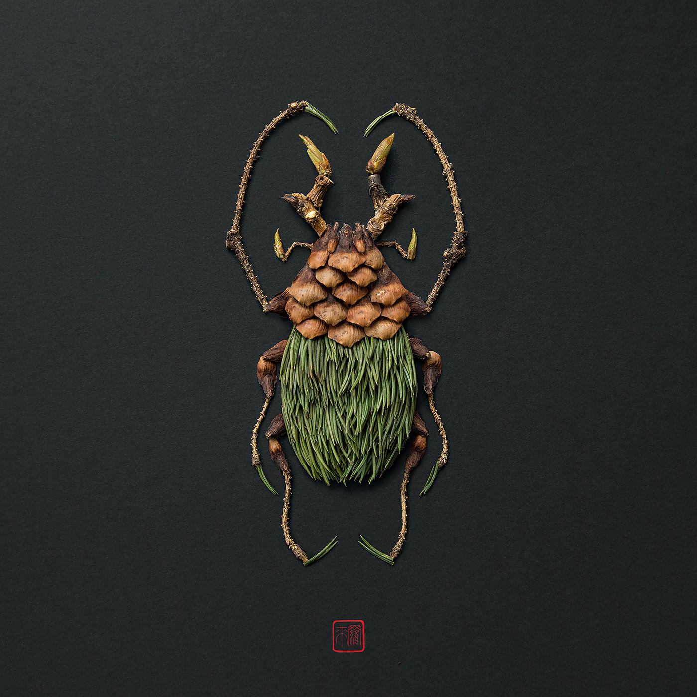 advertising ideas bug by raku inoue