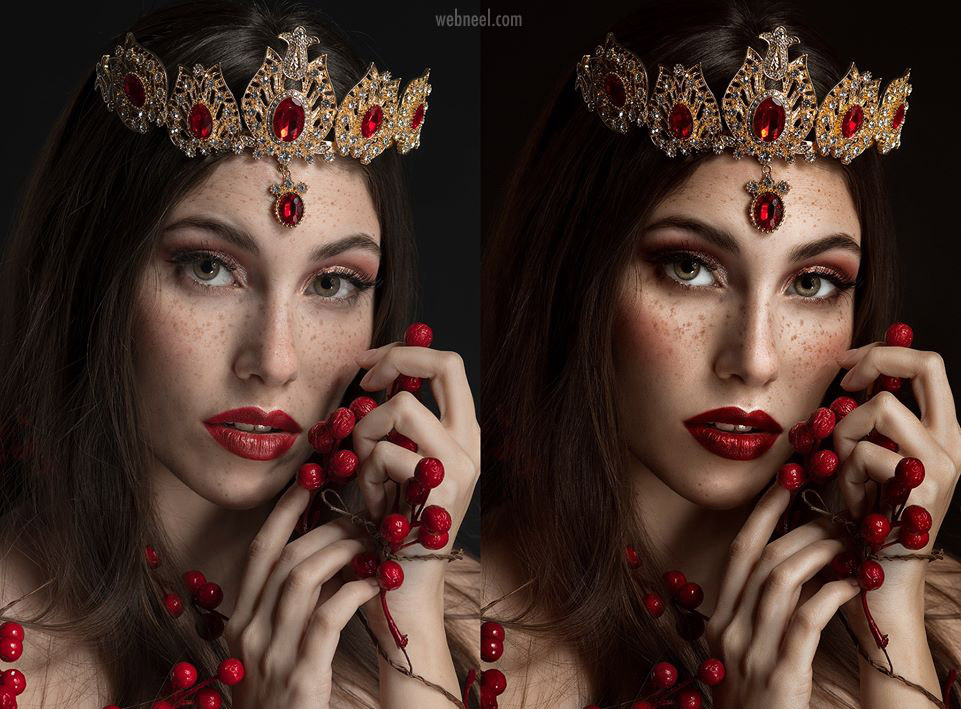 photo retouching work woman beauty rebecca saray