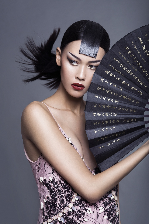 fashion photography celebrating colors