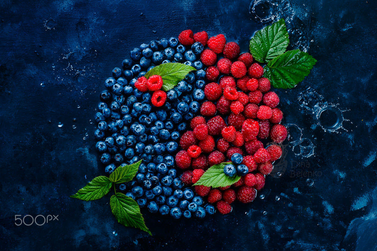 food art advertising idea photo manipulations summer balance