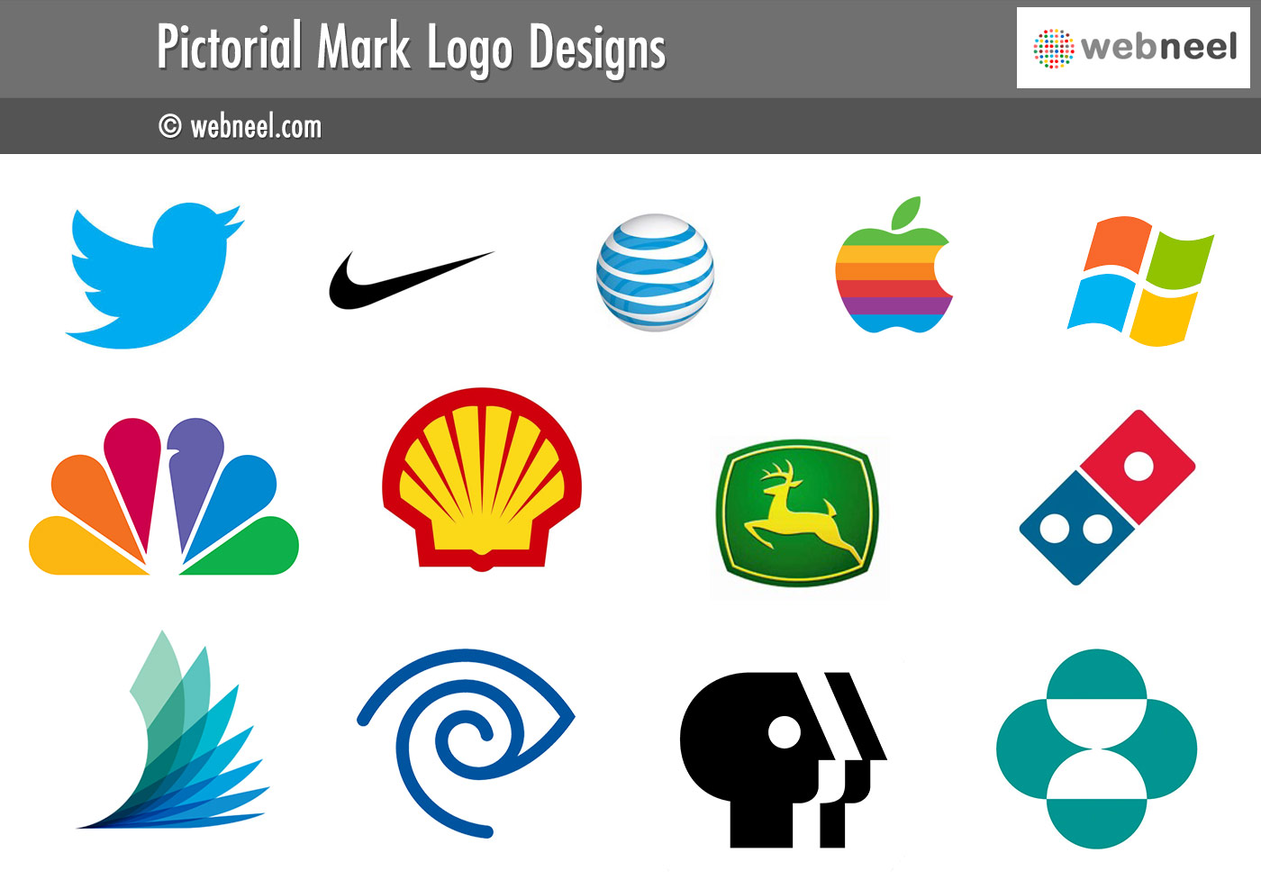 pictorial mark logo different types of logo design