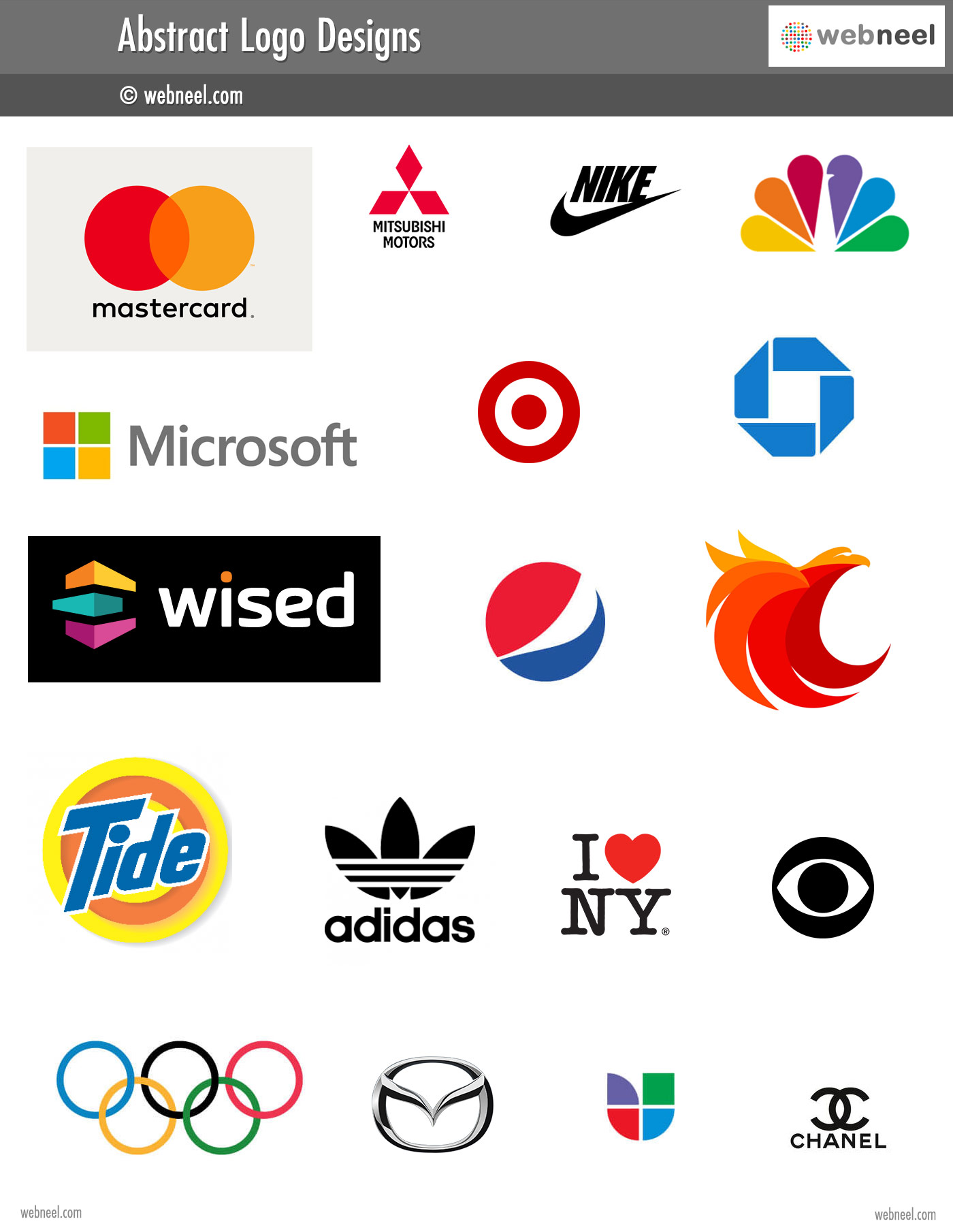 abstract logo different types of logo design