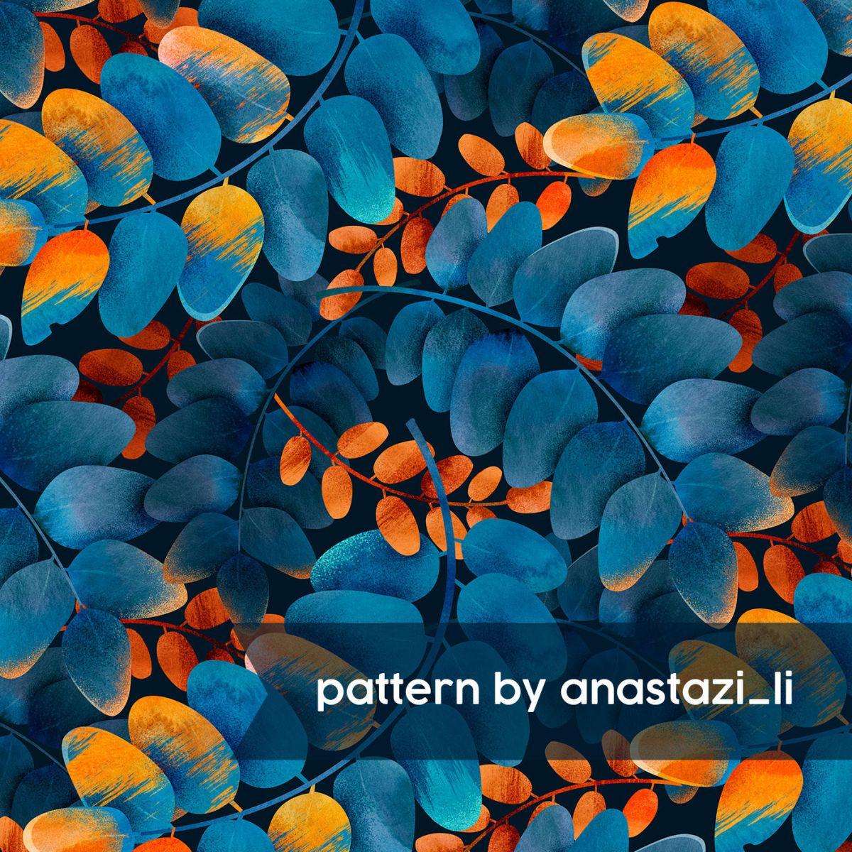 pattern illustration digital art by anastazi li