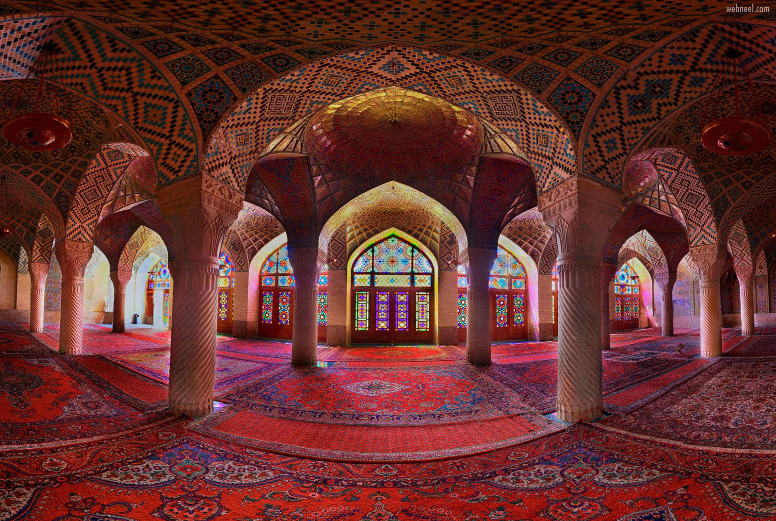 abstract photography building architechture colorful arab muslim