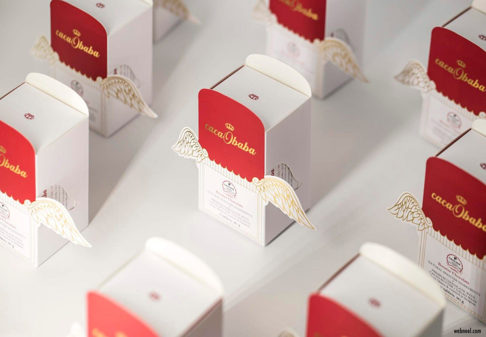 chocolate package design simple