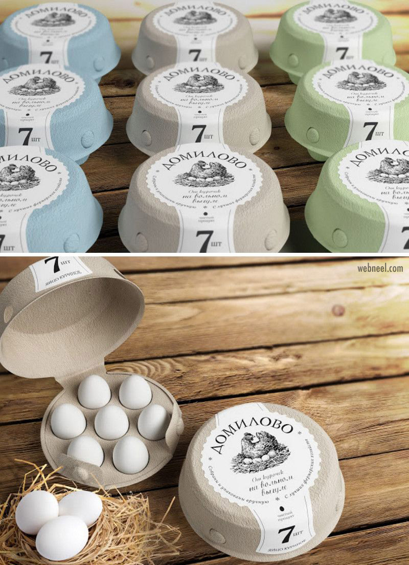 package design egg pouch
