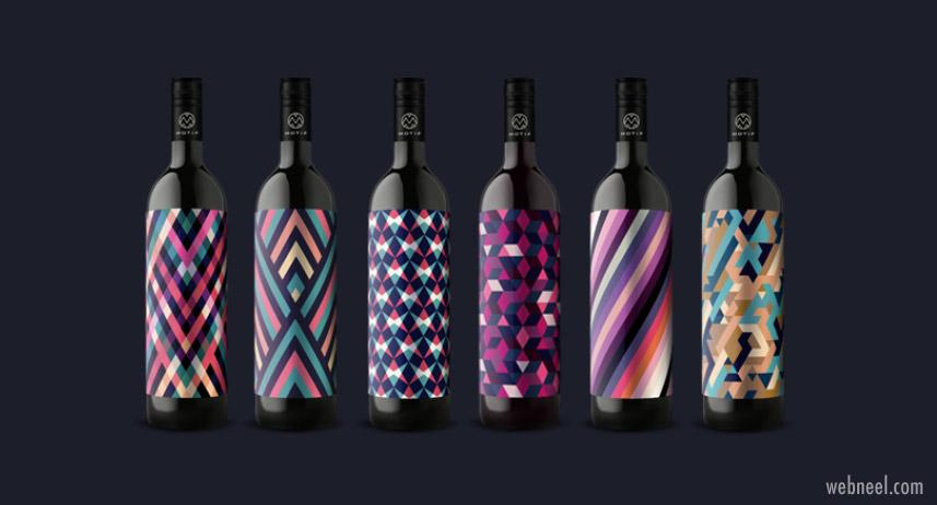 package design wine bottle