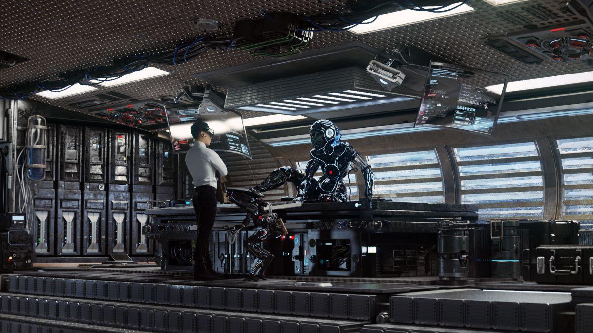 3d robot model design