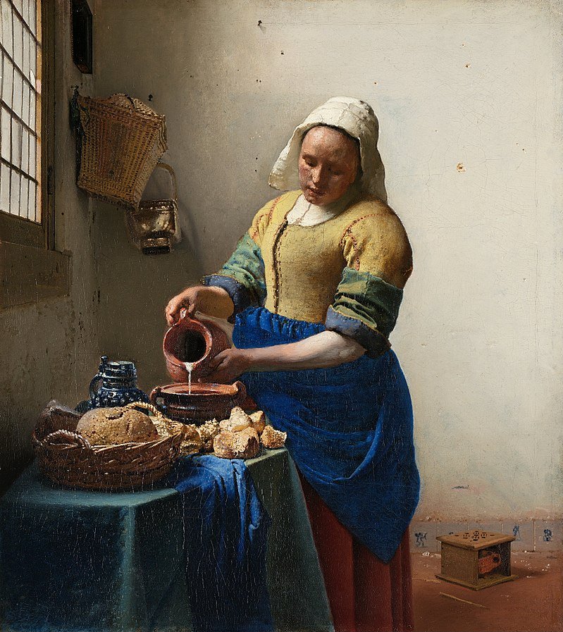 famous painting milkmaid