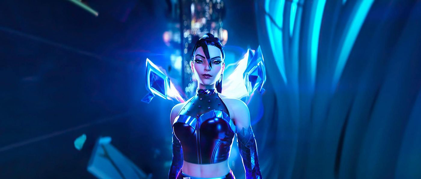 3d game model league of legend fantasy girl by steve