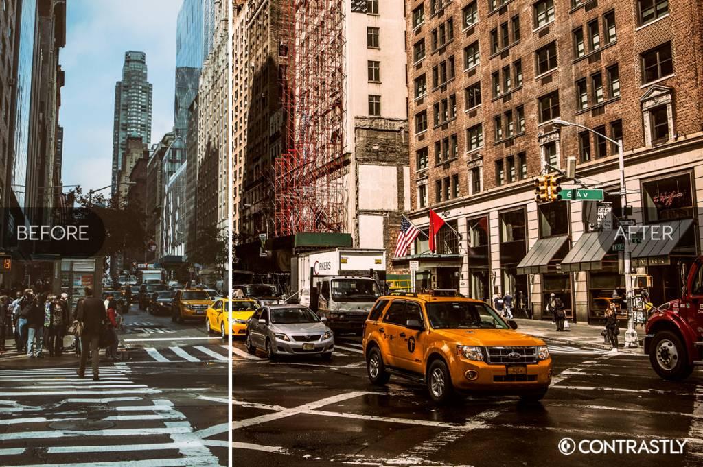 street photography presets
