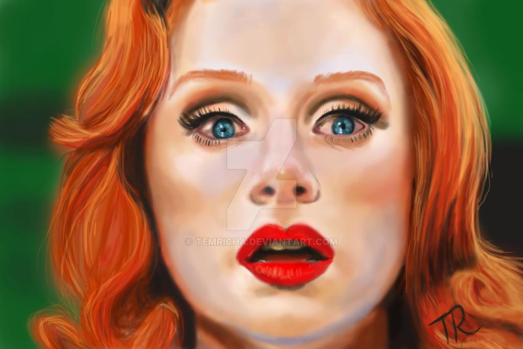 digital portrait painting bryce dallas