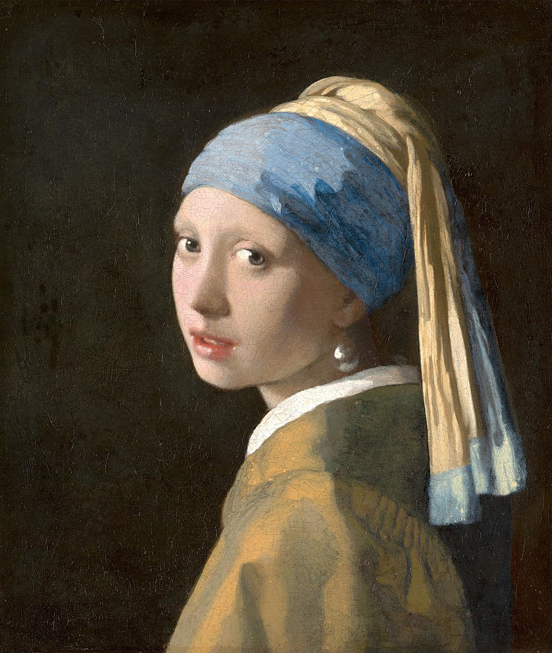 famous painting girl with a pearl earring