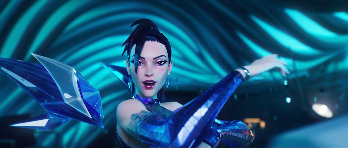 3d game model war league of legends girl by steve