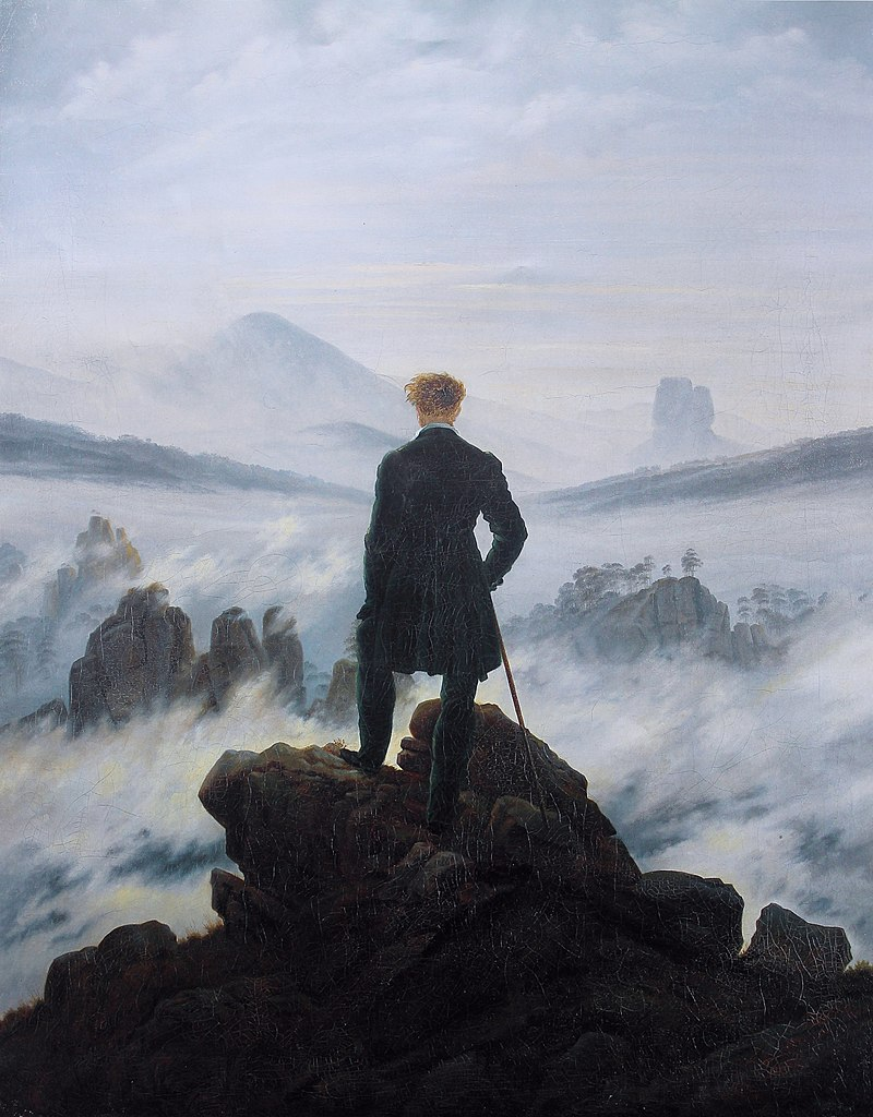 famous painting wanderer of the sea