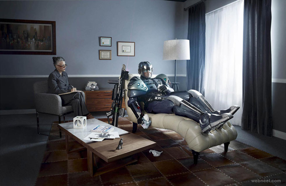 robot photo manipulation