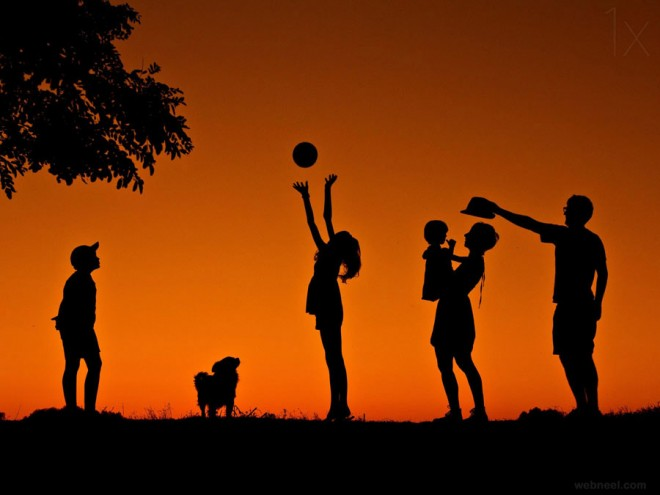 best silhouette photography