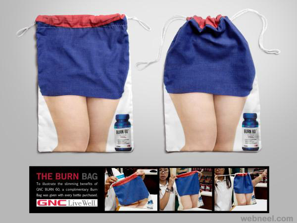 creative bag ad fitness