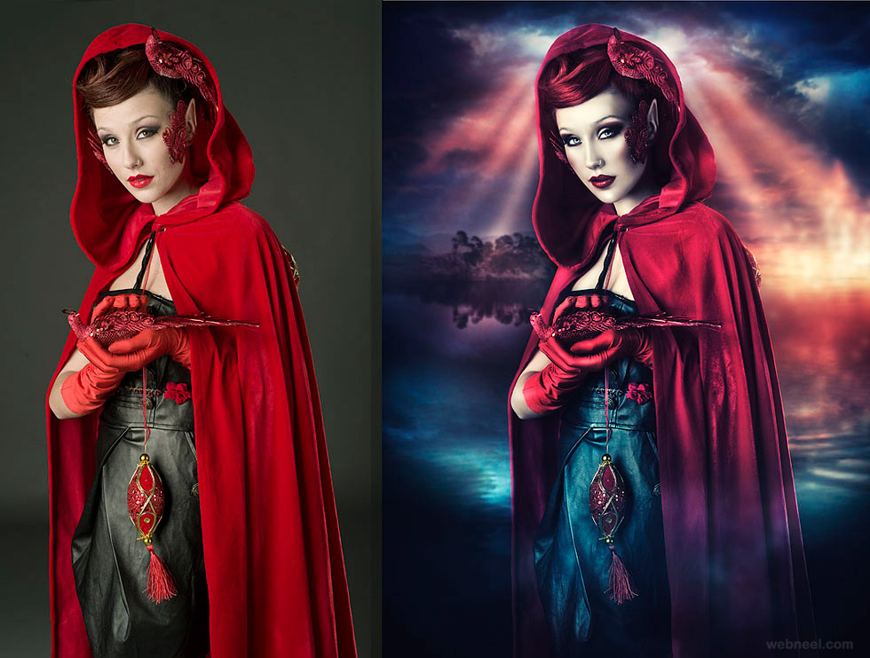 fantasy fashion photography retouching
