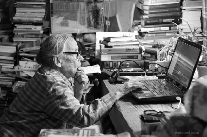 grandma internet passion photography