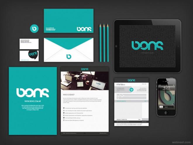 bons branding identity design