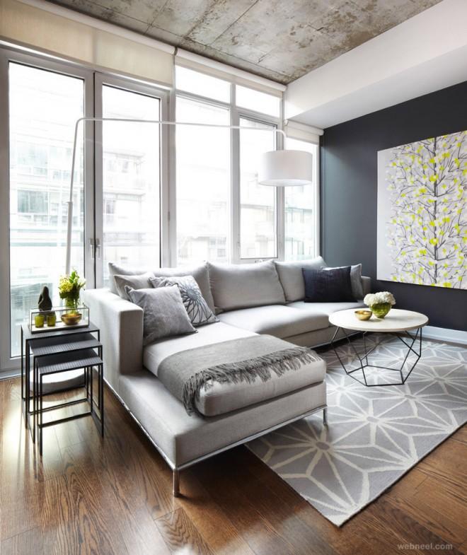 modern living room toronto best interior design