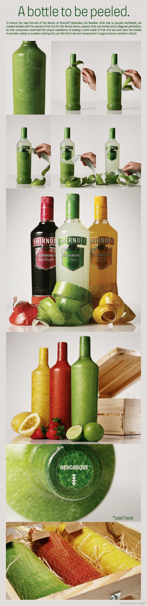bottle packaging design