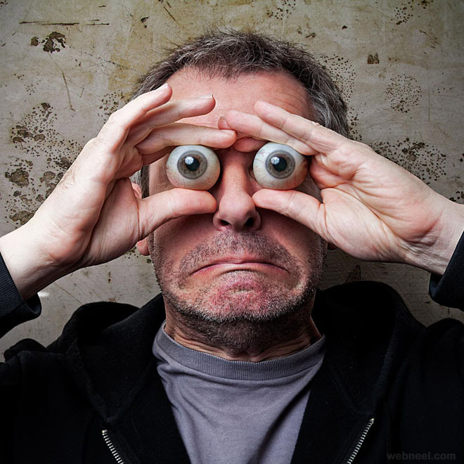 eye popper photo manipulation by pierre beteille