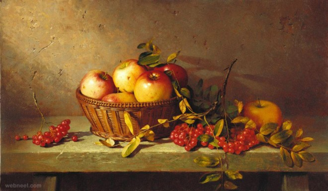 fruitst still life painting by dmitriy annenkov