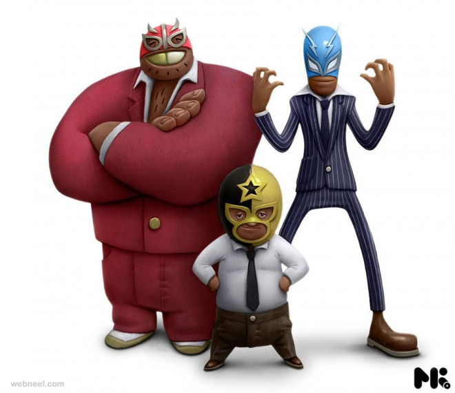 3d cartoon kutsche