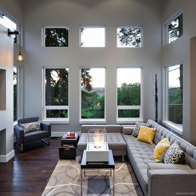 modern family room portland best interior design