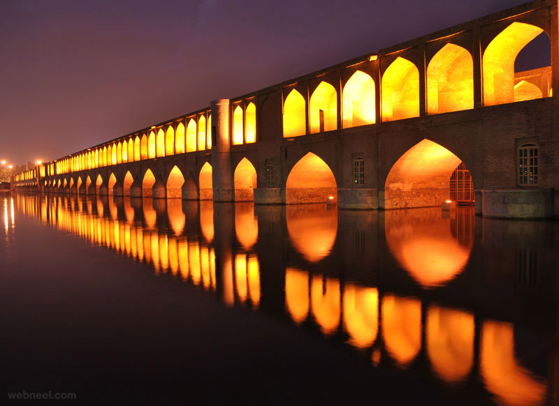 bridge reflection photography